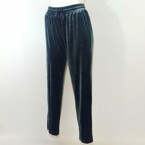 American Eagle AEO Velvet Pant Lounge Pants Gray S